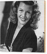 Gilda, Rita Hayworth, 1946 Wood Print by Everett
