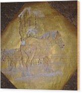 gilded Brabant Wood Print