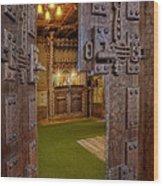 Gillette Castle's Bar Wood Print