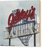 Gilleys Dallas Wood Print