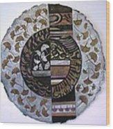 Gingko Biloba Wood Print