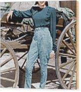 Girl Crazy, Judy Garland, 1943 Wood Print