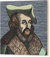 Girolamo Fracastoro, Italian Polymath Wood Print