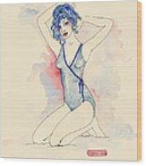 Giselle Wood Print