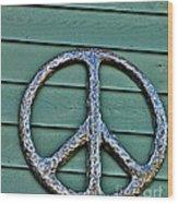 Give Peace A Chance Wood Print