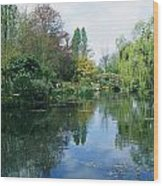 Giverny Gardens, Normandy Region Wood Print