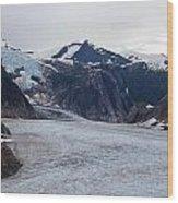 Glacial Field Wood Print