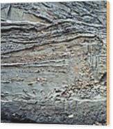 Glacial Sediments Wood Print