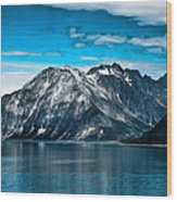 Glacier Bay Alaska Wood Print