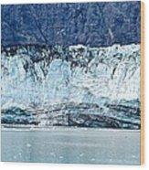 Glacier Face Wood Print
