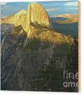 Glacier Point Tree Wood Print