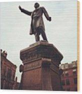 Gladstone, Hailing A Cab? Wood Print