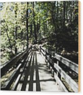 Glamour Bridge Wood Print