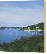 Glanmore Lake, Beara Peninsula, Co Wood Print