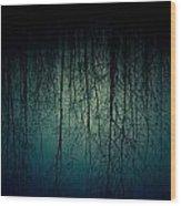 Glares Of Tree Stares Wood Print