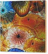 Glass Garden Wood Print
