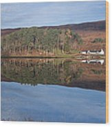 Glen Affric Reflections Wood Print