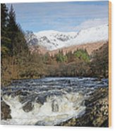 Glen Orchy Wood Print