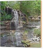 Glen Rock Falls 4 Wood Print