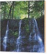 Glenariff Waterfall, Co Antrim, Ireland Wood Print