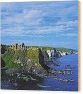 Glenarriff Falls, The Antim Glens, Co Wood Print
