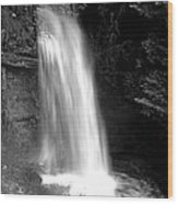 Glencar Waterfall Wood Print