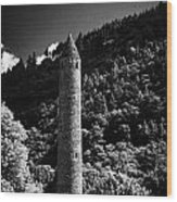 Glendalough Ireland Wood Print