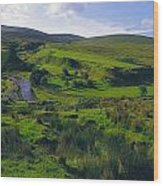 Glenelly Valley, Sperrin Mountains, Co Wood Print