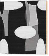 Globules Wood Print
