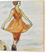 Gloria Swanson Wood Print