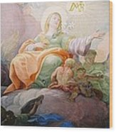 Glorie Der Hl. Anna  Wood Print