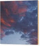 Glorious Clouds Wood Print