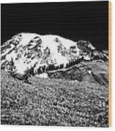 Glorious Mount Rainier  Wood Print