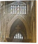 Glorious Rays Of Heavenly Light Wood Print