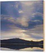Glorious Skies Wood Print