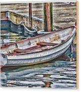 Gloucester Dinghy Wood Print