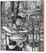 Gloucester Meter Maid Wood Print