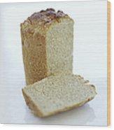 Gluten-free Bread Wood Print