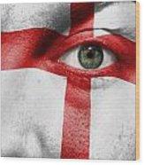 Go England Wood Print