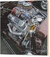 1938 Ford Roadster Go Power Wood Print