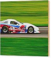 Go Speed Racer Go Wood Print
