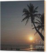 Goa Wood Print