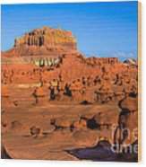 Goblin Valley State Park Wood Print