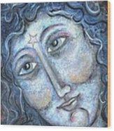 Goddess Of The Northern Star Wood Print
