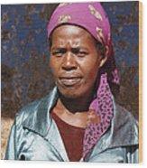 Godmother Of Ethiopia Wood Print