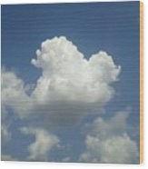 #god's Perfect Sculpting Skill #sky Wood Print