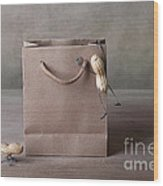 Going Shopping 03 Wood Print by Nailia Schwarz