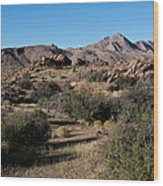 Gold Butte Tumbling Terrain  Wood Print
