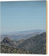 Gold In The Hills Virginia City Nv Wood Print