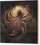 Gold Relic Wood Print